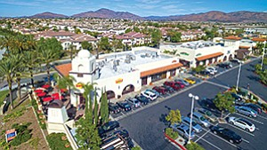 The Marketplace at Windingwalk in Eastlake was recently acquired by an affiliate of insurer Zurich, for $51 million. Local brokers say San Diego County retail properties are expected to remain in high demand for the rest of 2016 and beyond, with limited new construction underway. Photo courtesy of Newmark Grubb Knight Frank