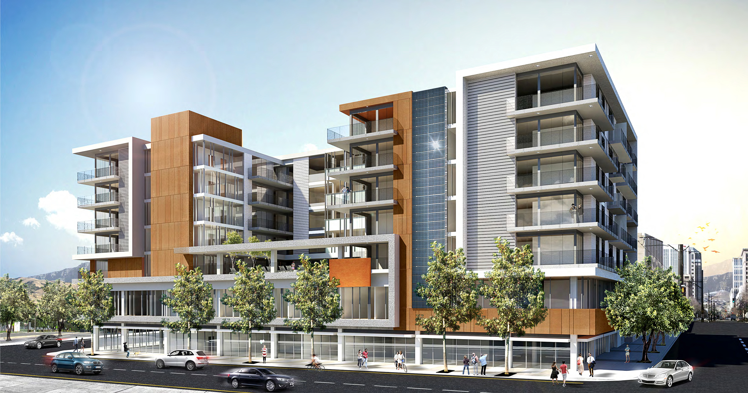 Construction starts on 45m mixed use project in east for Apartment design and development ltd