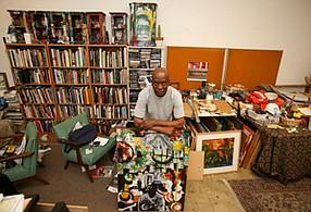Part of the Mix: Michael Massenburg at his studio in Inglewood.