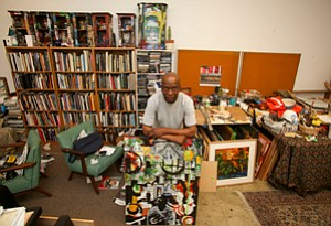 Part of the Mix: Michael Massenburg at his studio in Inglewood.