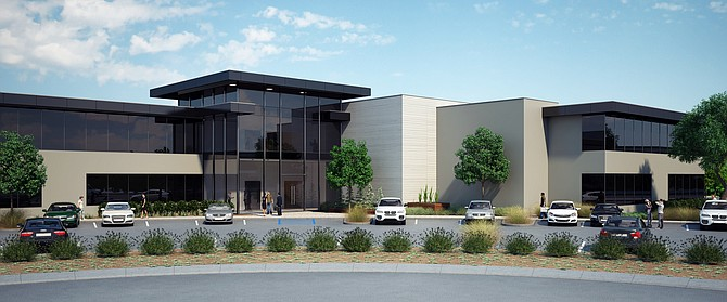1800 Aston Ave. rendering -- Rendering courtesy of CBRE Group Inc.