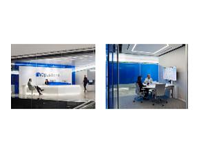 Design: retail banking, work space