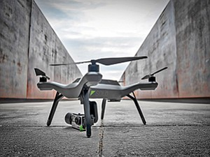 The FAA has set the parameters for drones used for commercial purposes, such as this one manufactured by San Diego- based 3DR. Photo courtesy of 3DR
