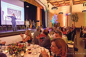 Attendees enjoy the show at the Hands United for Children's fifth annual fundraiser gala.  Photo courtesy of Felice Kinnear Photography