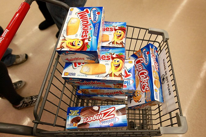Hostess Brands Twinkie. Getty Images.