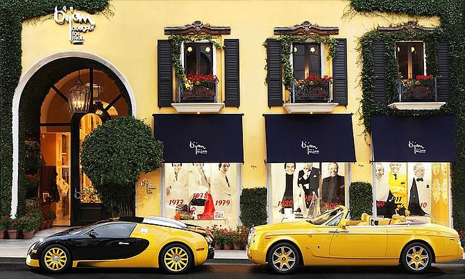 Bijan's Rodeo Drive Store Fetches $122 Million.