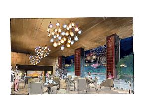Rendering: planned Disney hotel restaurant