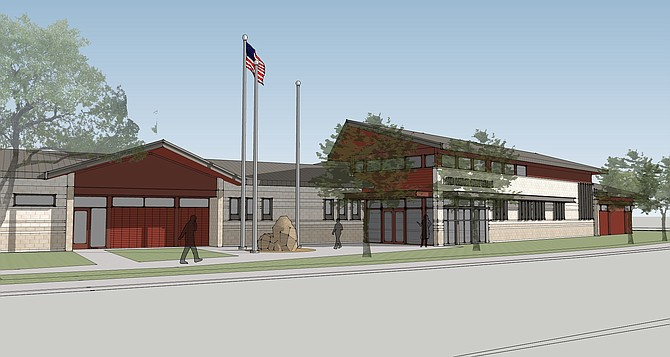 Rendering courtesy of Erickson-Hall Construction Co.