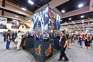Like prior iterations, the 2015 Comic-Con International drew approximately 130,000 to San Diego Convention Center during its four days. Photo courtesy of San Diego Convention Center Corp.