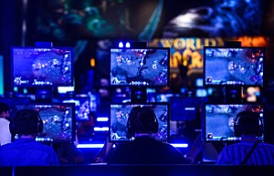 Game On: 'World of Warcraft' players.