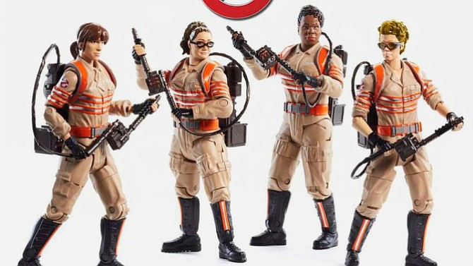 """""""Ghostbusters"""" toys from Mattel."""