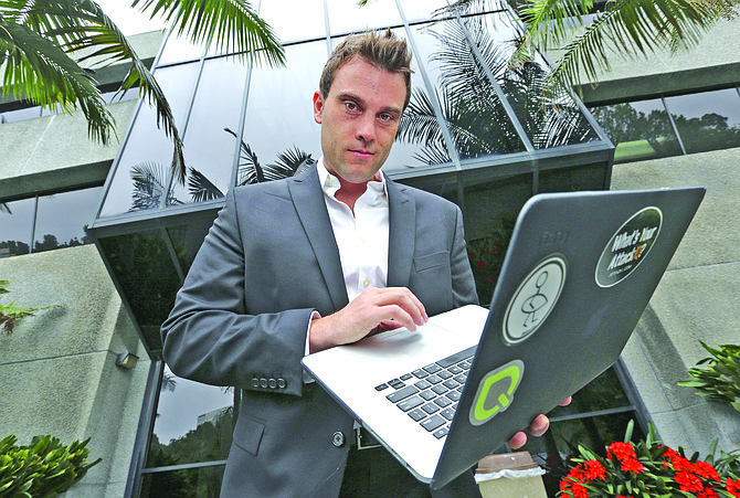 CEO Stephan Chenette's company has found a niche in the growing cybersecurity field by testing the effectiveness of software designed to detect malware.