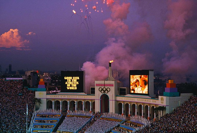 Olympics in Los Angeles. Getty Images