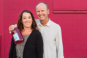Owners Susan McMillion and James Farnworth bring local, fresh kombucha to San Diego.