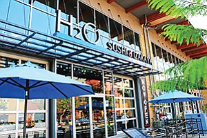 H20 Sushi Thinks Young With Design Drinks And Dishes San