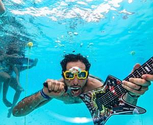 Brian Miller underwater.
