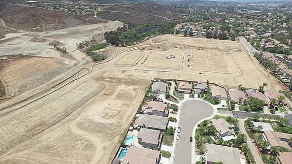 Rancho Tesoro development in San Marcos -- Photo courtesy of Brookfield Residential