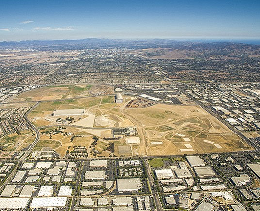 This former Marine Corps air station property in Orange County is the site of OliverMcMillan's proposed Tustin Legacy. -- Photo courtesy of OliverMcMillan