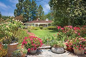 An East Coast traditional home at 17461 Avenida de Acacias in Rancho Santa Fe is on the market for $9.5 million. Photo courtesy of Paul Body Photography