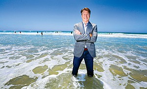 Gary Koerper, founder and CEO of Telletopia, isn't afraid to swim against the tide. The former Qualcomm Inc. and Comcast executive is taking on the FCC to let more internet players — not just the big telecom, cable and satellite providers — offer local TV programming.