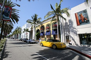 Line on Luxury: Rodeo Drive storefront leased by House of Bijan was purchased in July for $122 million.