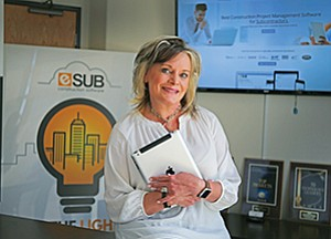 Wendy Rogers weathered industry skepticism and the Great Recession in building her software-as-a-service company, eSUB Construction Software Inc.