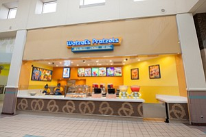 Counter Presence: One of Wetzel's Pretzels' roughly 300 locations.