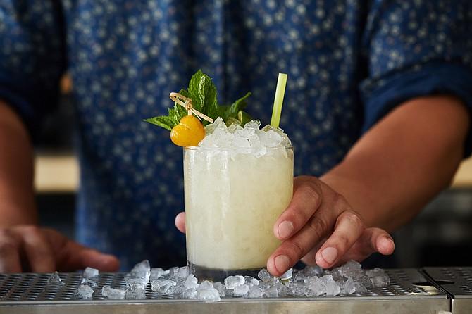 Cocktail offers taste of luxury.
