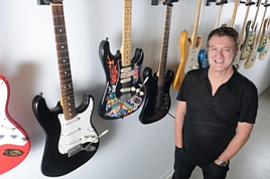 Amplified Presence: CEO Andy Mooney at Fender in Hollywood.