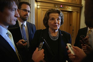 Fraud Concern: Sen. Dianne Feinstein at the Capitol in May of last year.