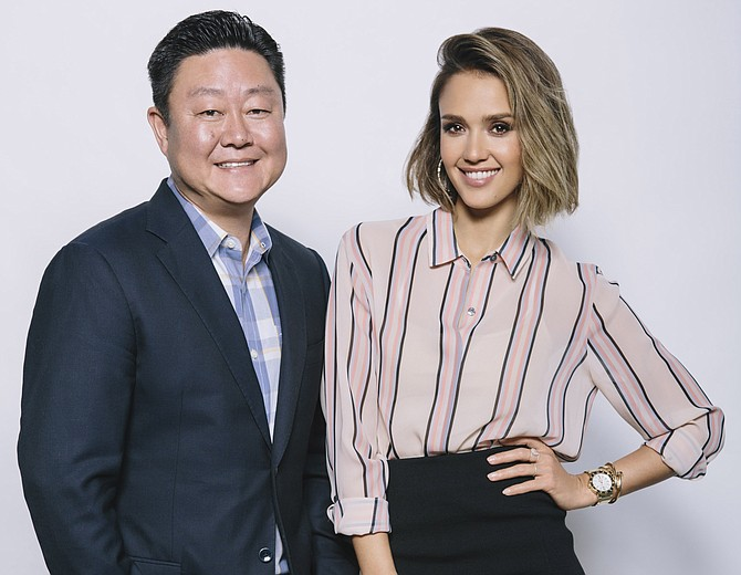 Brian Lee, chief executive and co-founder along with actress Jessica Alba of the Honest Co.