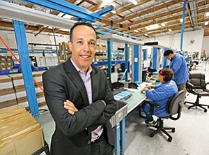 Quality control is a key reason Outsource Manufacturing Inc. can compete with larger companies, says CEO Ted Fogliani.