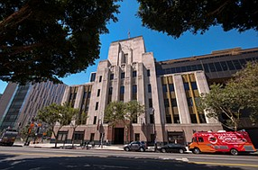 Cutting In: Downtown's Los Angeles Times, home to a new editing platform.