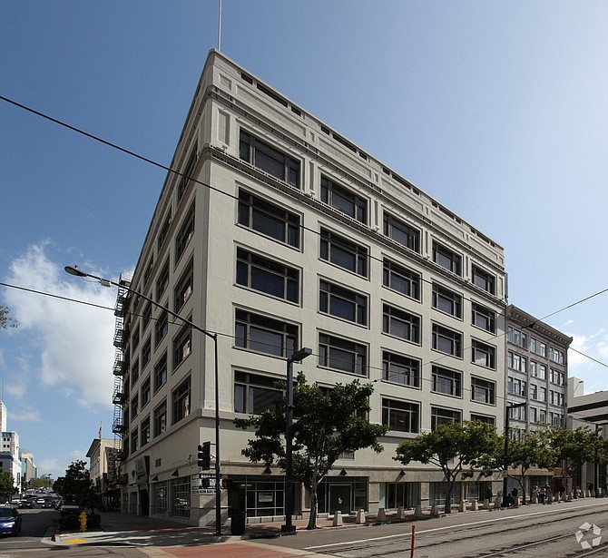 1111 Sixth Ave. in downtown San Diego -- Photo courtesy of CoStar Group