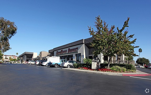 A new Sprouts Farmers Market will anchor this retail center at 3005-3033 Clairemont Drive in San Diego - Photo courtesy of CoStar Group