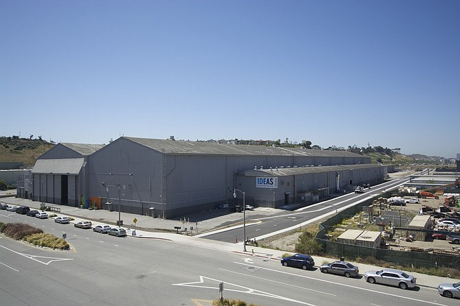 The former Spruce Goose hangar in Playa Vista is up for sale. Tenant Google Inc. plans to renovate the 251,700-square-foot building to create office space.