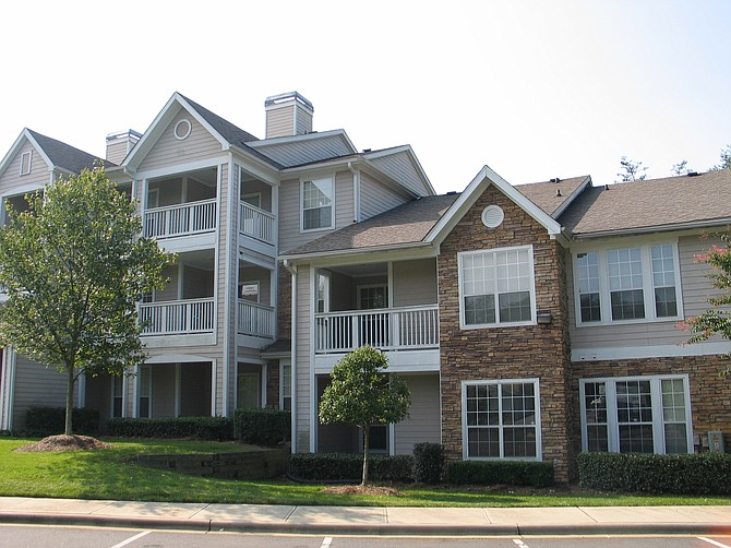 Strata Equity Group's recent apartment portfolio purchase included this property in Charlotte, N.C. - Photo courtesy of Strata Equity Group