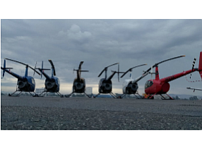 Revolution helicopters at JWA