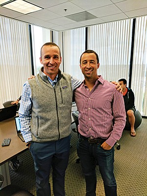 Brothers Ryan Alfred and Mike Alfred have launched a database that lists more than 600,000 financial advisors. Photo courtesy of BrightScope Inc.