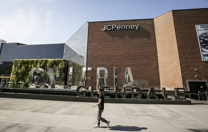 Ticking Clock: Pedestrian at Glendale Galleria, which will open Thanksgiving Day.