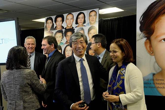 Investor: Patrick Soon-Shiong may have inside track to buy L.A. Times.