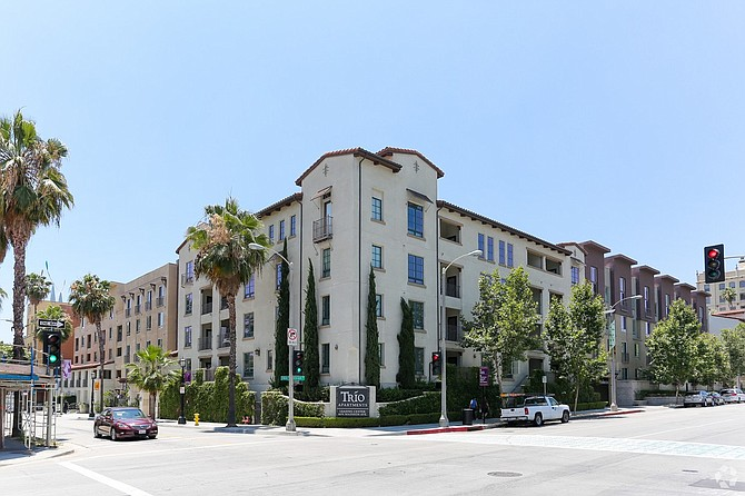 Sold Off: Trio Apartments in Pasadena.