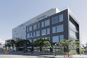 Tapped In: Molina Healthcare's Long Beach development was partially funded by money from the EB-5 visa program.