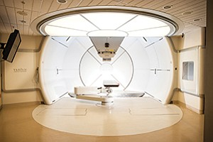 The Scripps Proton Therapy Center which opened in 2014 has not yet lived up to financial expectations. The treatment is covered under Medicare, but insurers have so far been reluctant to cover the procedure. Photo courtesy of Scripps Health