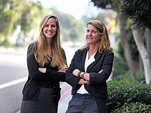 Carolyn Taylor, president of Weatherly Asset Management, right, and Ashley Copp, an investment advisor at the firm, are ensuring they are in compliance with new disclosure rules.