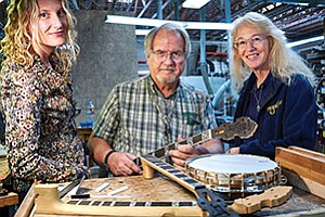 Deering Banjo Co. expects international sales, which now account for one-fifth of overall sales, to increase by as much as 15 percent.