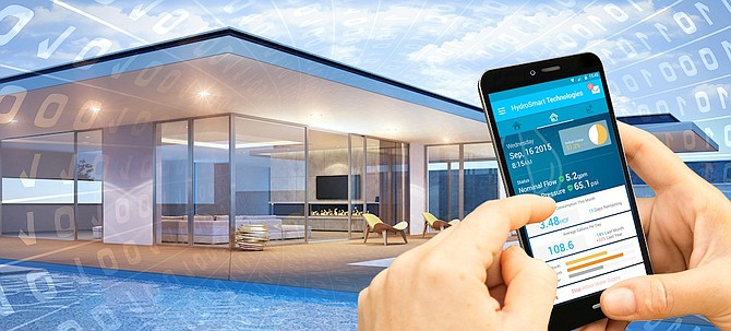The Smart Monitoring System Platform -- Image courtesy of HydroSmart Technologies