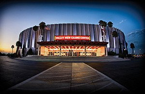 The Valley View Casino Center originally opened in 1966 as the Sports Arena. Photo courtesy of Alan Hess
