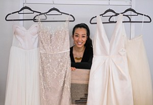 85af6a9fde0 Floravere Hitches Wedding Gowns to Online Sales Strategy
