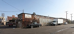 Acquired Property: Former cardboard recycling center run by California Crate.